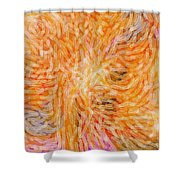 Meeting On High Shower Curtain