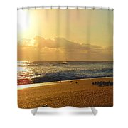 Meeting With The Sun Shower Curtain