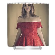 Meg 5 Shower Curtain