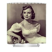 Meg Randall, Vintage Actress Shower Curtain