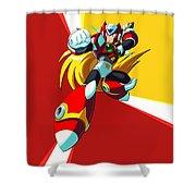 Mega Man X Shower Curtain