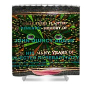 Megaboard 321 Shower Curtain