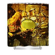 Megadeath 93-david-0364 Shower Curtain