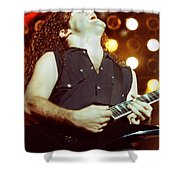 Megadeath 93-marty-0379 Shower Curtain