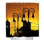 Megiddo Shower Curtain