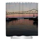 Megler Sunset Shower Curtain