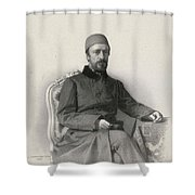 Mehmed Emin Shower Curtain