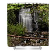 Meigs Falls One Shower Curtain