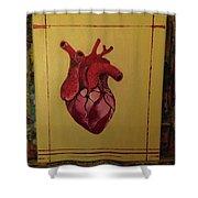 Mein Herz My Heart Shower Curtain