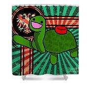 Meine Turtle Shower Curtain