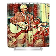 Mel Tillis Famous Country Music Entertainer  Shower Curtain