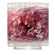 Melancholic Moment Shower Curtain
