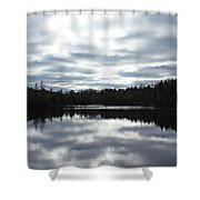 Melancholy Reflections Shower Curtain