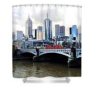Melbourne 2014 Aids Conference Shower Curtain