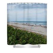 Melbourne Beach Florida November View Shower Curtain
