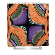 Melded Windows Shower Curtain