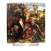 Melissa Circe 1507 Shower Curtain