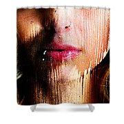 Melissa Face Shower Curtain