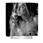 Melissa Sparkles Shower Curtain