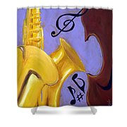Mellow Me Shower Curtain