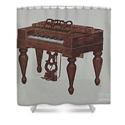 Melodeon Shower Curtain