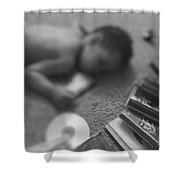 Melodic Dreams Shower Curtain
