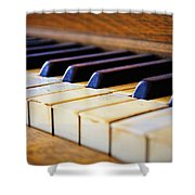 Melodies And Memories Shower Curtain