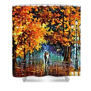 Melodies From The Past Shower Curtain