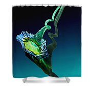 Melodious Growth Shower Curtain