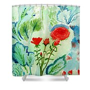 Melody Of Color Shower Curtain