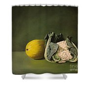 Melon Cauli Shower Curtain