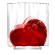 Melting Heart Shower Curtain