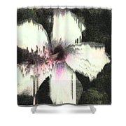 Melting Hibiscus Shower Curtain