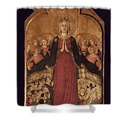 Memmi: Madonna In Heaven Shower Curtain