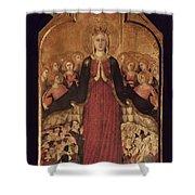 Memmi: Madonna In Heaven Shower Curtain
