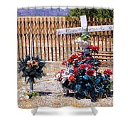 Memorial 1 Shower Curtain