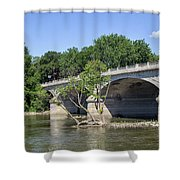 Memorial Bridge Shower Curtain