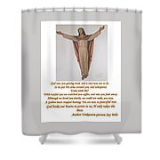 Memorial Card Shower Curtain
