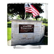 Memorial Day 2017 - Sumner W A Cemetery Shower Curtain