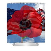 Memorial Day - Remembrance Day - Armistice Day Shower Curtain