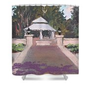 Memorial Garden Lakeside, Ohio Shower Curtain
