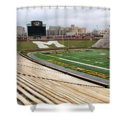 Memorial Stadium Shower Curtain