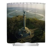 Memorial To The Battle Of Chattanooga Shower Curtain