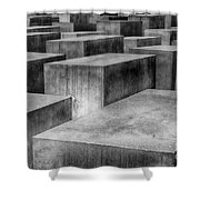Memorial To The Murdered Jews Of Europe Shower Curtain