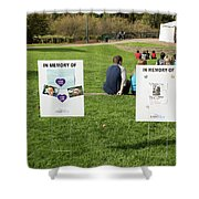 Memorials And Outdoor Bands Shower Curtain