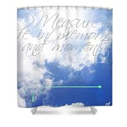 Memories And Moments Shower Curtain