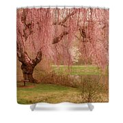 Memories - Holmdel Park Shower Curtain