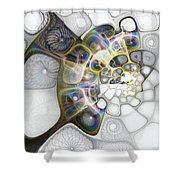 Memories II Shower Curtain
