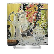 Memories In Reflection I Shower Curtain