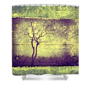 Memories Like Trees Shower Curtain